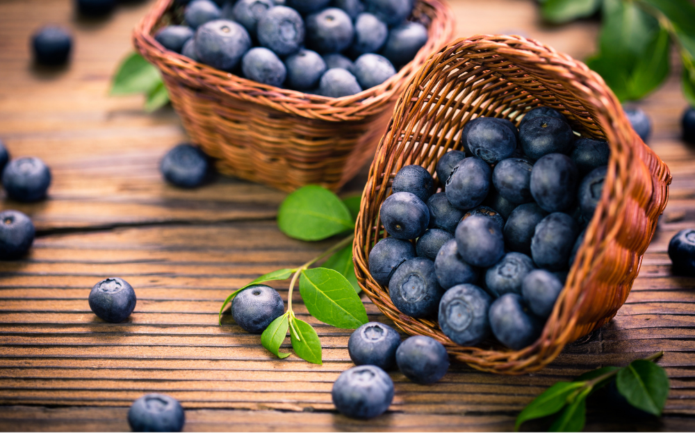 Six Surprising Health Benefits of Blueberries